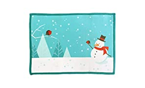 Lynktec Smartie Microfiber Cleaning Cloth for iPad Snowman - LTAC-0053