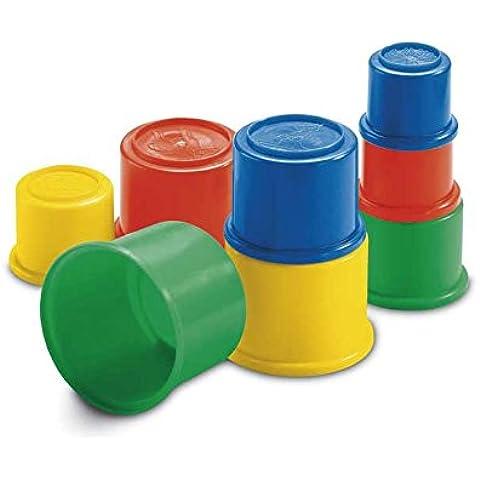 Mattel 75601-0 Fisher-Price - Cubos de construcción, moldes para arena con diseño de animales (a partir de 18