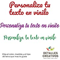 Vinilos Decorativos, Vinilos Personalizados a Todo Color ! Decora tu pared, puerta, con una pegatina ! elige el tamaño que más se adapte a tus necesidades !