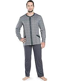 Italian Fashion IF Pijamas Conjunto Camisetas y Pantalones Ropa de Dormir Hombre IFS18028 (,)