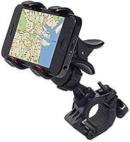 Bicycle Mobile Phone Holder, 360° Rotation Adjustable Portable Electric Vehicle Navigation Bracket, Suitable f