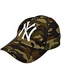 27c0a59c97a NexusWorld Cotton Baseball Army Militery Caps for Men and Women - Grey and  Brown