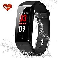 Youngdo Montre Connectée GPS, Bracelet Connectée Affichage d'Écran Couleur, Fitness Tracker d'Activité Étanche IP67 pour Surveillance de la fréquence Cardiaque/Calories/Podomètre/Temps de Sommeil