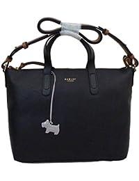 aa7dec083 RADLEY ''Guildhall' Large Black Leather Multiway Bag - RRP £209