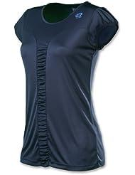 t-shirt Missy, da donna, colore: blu scuro, Donna, Dunkelblau, S