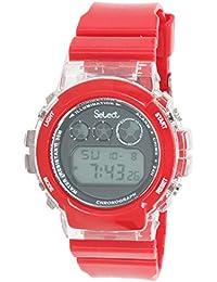d372541ea540 Select Fr-31 Reloj Digital para Hombre Caja De Resina Esfera Color Gris