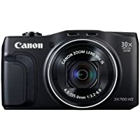 Canon PowerShot SX700 HS Compact Zoom - Black (16.1MP, 30x Optical Zoom)