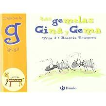 Las gemelas Gina y Gema: Juega con la g (ge, gi) (Castellano - A Partir De 3 Años - Libros Didácticos - El Zoo De Las Letras)