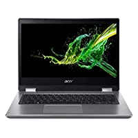 "Acer Spin 3 SP314-53GN-5721 Convertible Laptop, Intel Core i5-8265U, 14"" FHD, 128GB SSD + 1TB HDD, 8GB RAM, 2GB MX230, Win10, Eng-Ara KB, Silver"