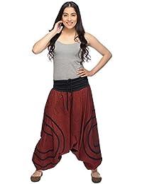 Haremshose Pumphose Aladinhose Pluderhose Yoga Goa Sarouel Baggy Aladin Freizeithose Cercles Damen