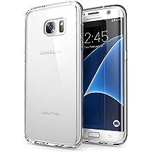 Custodia Galaxy S7 Edge, Orlegol Galaxy S7 Edge Bumper Case Morbida Flessibile Estremamente TPU Gel Sottile Pelle Trasparente Antigraffio Protezione Cover per Samsung Galaxy S7 Edge --Transparent