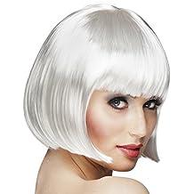 Peluca Cabaret blanca