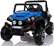 Road 4X4 Bagi Style 12v Kids Ride On Car With RC,blue