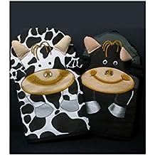 ZINGS Manoplas de cocina vaca o toro - Vaca