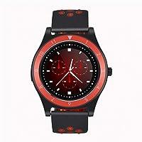 Altsommer Bluetooth 1,22 Zoll TFT HD LCD Smart Uhr Sitzende Erinnerung, Schrittzähler Smart Uhr, Smart Watch mit FitnessTrackerHerzfrequenz,Intelligent Armbanduhr für Android IOS (C)