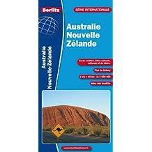 Australie, Nouvelle-Zélande - Carte routière et touristique (avec plan de Sydney)