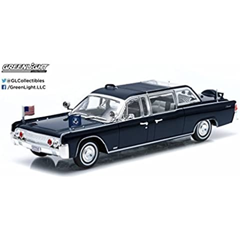 Greenlight 1:43 Presidential Limos 1961 Lincoln Continental
