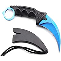 Nvetls C-S Tool Imitative with Sheath for Game Fans and Outdoor Activities (Blue)