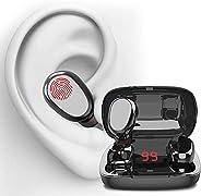 YOMYM new Bluetooth headset entertainment gaming headset IPX8 waterproof CVC8.0 noise reduction mini sports he