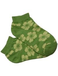Weri Spezials. Socks verkürzt. Tropischen Blumen Motiv.