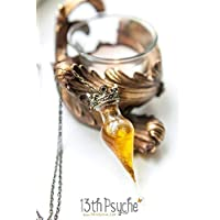 Collana pozione lacrima, collana fiala pozione d'amore, ciondolo bottiglia pozione magica, gioielli strega, regali personalizzati, gioielli da favola, collana veleno.