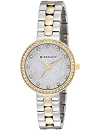 Giordano Analog Silver Dial Women's Watch-A2068-55
