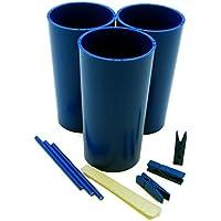 pilier 3bougies Moules, Bâtons, pinces à linge, Mastic et guide d'instructions