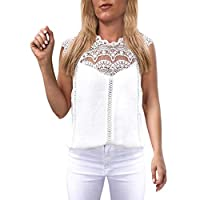 Fankle Womens Butterfly Print Tees Shirt Short Sleeve T Shirts Tops Blouse (White, S)