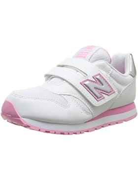 New Balance 373 Scarpe Bambina Ragazza KV373WPY Sneaker Bianco Rosa