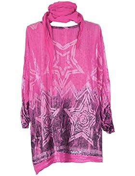 TEXTUREONLINE - Camisas - Estrellas - para mujer