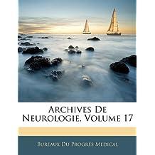 Archives de Neurologie, Volume 17