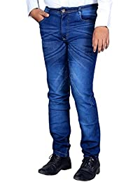 L,Zard Fashionable Slim Fit Stretchable Blue Jeans For Men's Stylish Jeans For Men,Blue Jeans For Men,Men's Blue...