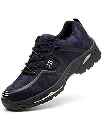 H-Mastery Chaussure de Sécurité Homme Femme Chaussures de Travail avec Embout de Protection en Acier