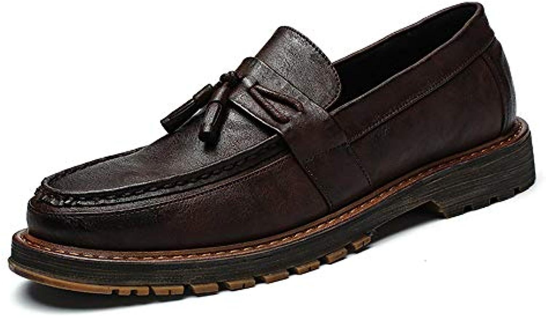 Xiaojuan-scarpe, Scarpe stile brogue da uomo casual in Oxford stile inglese casual con fondo pesante,Scarpe Uomo... | Outlet Store Online  | Scolaro/Signora Scarpa
