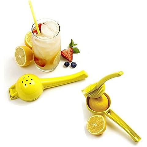Metal Lima Limón Exprimidor–Manual Citrus Exprimidor Exprimidor de Limón