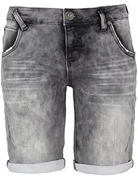 Sublevel Bermuda in felpa da donna | Pantaloni corti da donna effetto jeans usato
