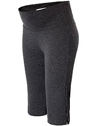 Maacie Pantalones Mujeres Embarazadas Maternidad 3~4 Meses Cómodo Capri