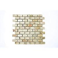 mosaico azulejos Pizarra piedra natural beige óxido Brick Indian Autumn para suelo pared baño inodoro ducha cocina azulejos Espejo Mostradores cubierta para bañera. Mosaico Matte mosaico placa