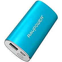 RAVPower Caricabatterie Portatile Luster 6700mAh con Tecnologia iSmart (Uscita 2.4A, Ingresso 2A) Batteria Esterna Universale (Universale Aa Power Pack)