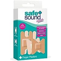 SAFE AND SOUND steril Pflaster Finger sortiert, 12Stück preisvergleich bei billige-tabletten.eu
