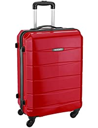 Safari Re-Gloss Polycarbonate 66 cms Red Suitcases (NEW-Re-Gloss-65-Red-4WH)