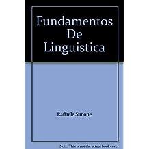 Fundamentos de lingüística