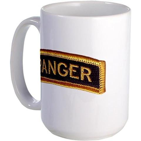 CafePress Ranger Tab Black Gold Large Mug Large Mug -