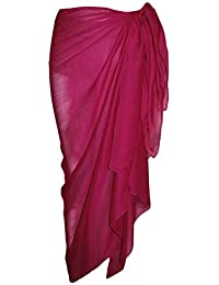Soft Plain 100% Viscose Sarong 100cm x 180cm