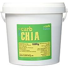 -carb Chia Samen aus fairem Handel, 1 kg