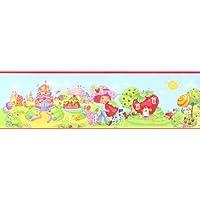 Fragolina dolcecuore, Strawberry Shortcake camera dei bambini da parete passamaneria,
