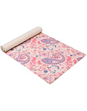 """Amextrian Yoga Mat - Classic 6mm Print Exercise & Fitness Mat for All Types of Yoga, Pilates & Floor Exercises (68"""" x 24"""" x 6mm Thick)"""