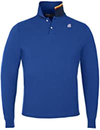 K-Way Polo uomo K-Way ROCHEL STRETCH BLUE ROYAL