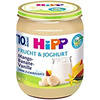 HiPP Mango-Banane-Vanille, 6er Pack (6 x 160 g)