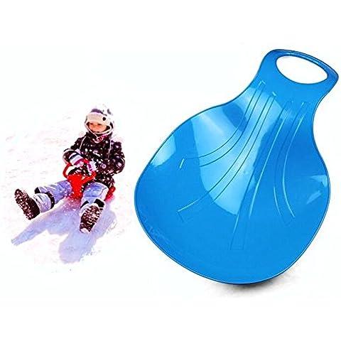 oumosi plástico nieve trineo infantil trineo de invierno deslizador hierba Junta Esquí al aire libre Juguetes y Juegos Para Niños Y